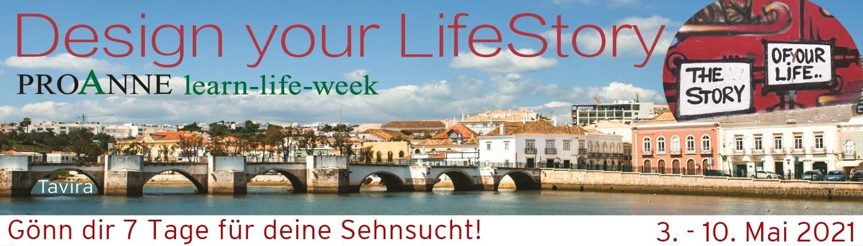 Design your LifeStory in Portugal mit Katrin Klemm