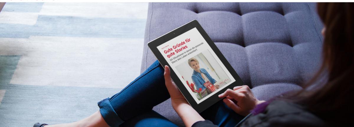 eBook Gute Gründe für gute Stories   Katrin Klemm Storytelling   easy download