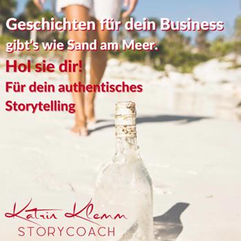 finde deine stories Katrin Klemm Storytelling